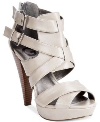 G by GUESS Women's Dixie Platform Sandals-G BY GUESS-Fashionbarn shop