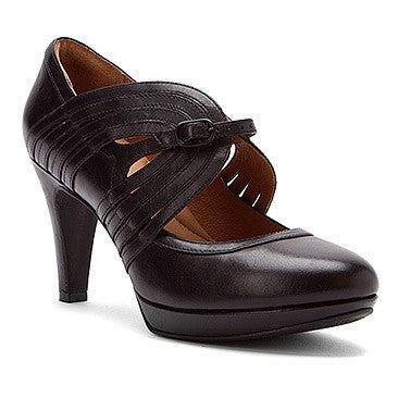 Indigo By Clarks Wessex Arms Womens Black Pumps Heels-CLARKS OF ENGLAND-Fashionbarn shop