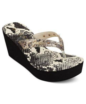 PLATFORM WEDGE SLINGBACK-GUESS BY MARCIANO-Fashionbarn shop