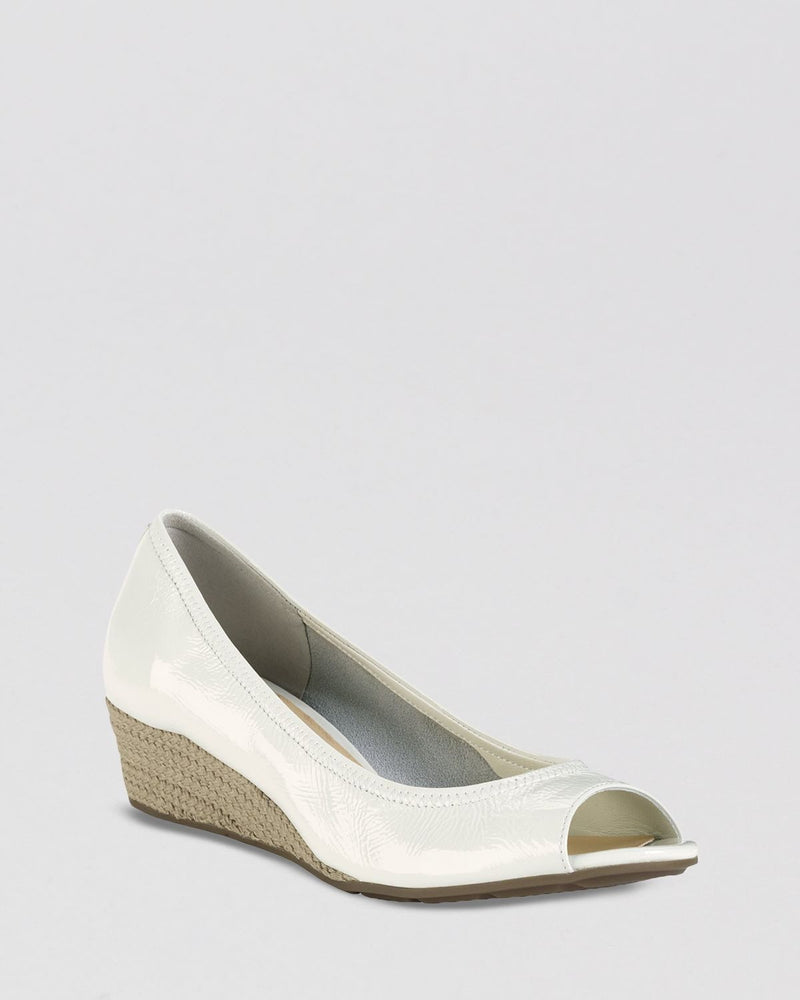 Cole Haan Open Toe Wedge Pumps - Air Tali - Fashionbarn shop