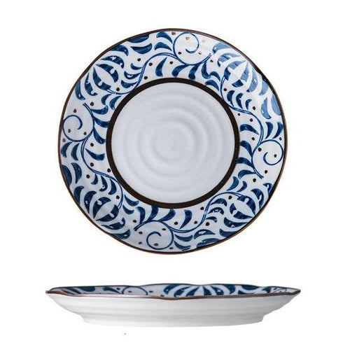 "Zuo Japanese 8"" Creative Hand-painted Plate"