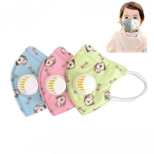 Rockbros 2pcs Children N90 Vertical Folding Mask