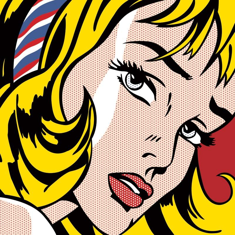 POP Art Canvas Painting Wall Art