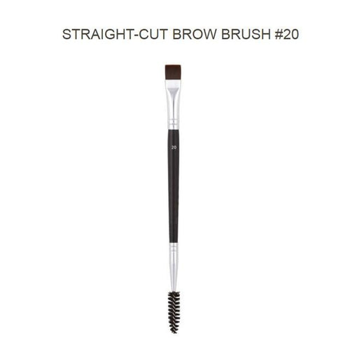 Professional Dual Sided Angled Eyebrow Brush