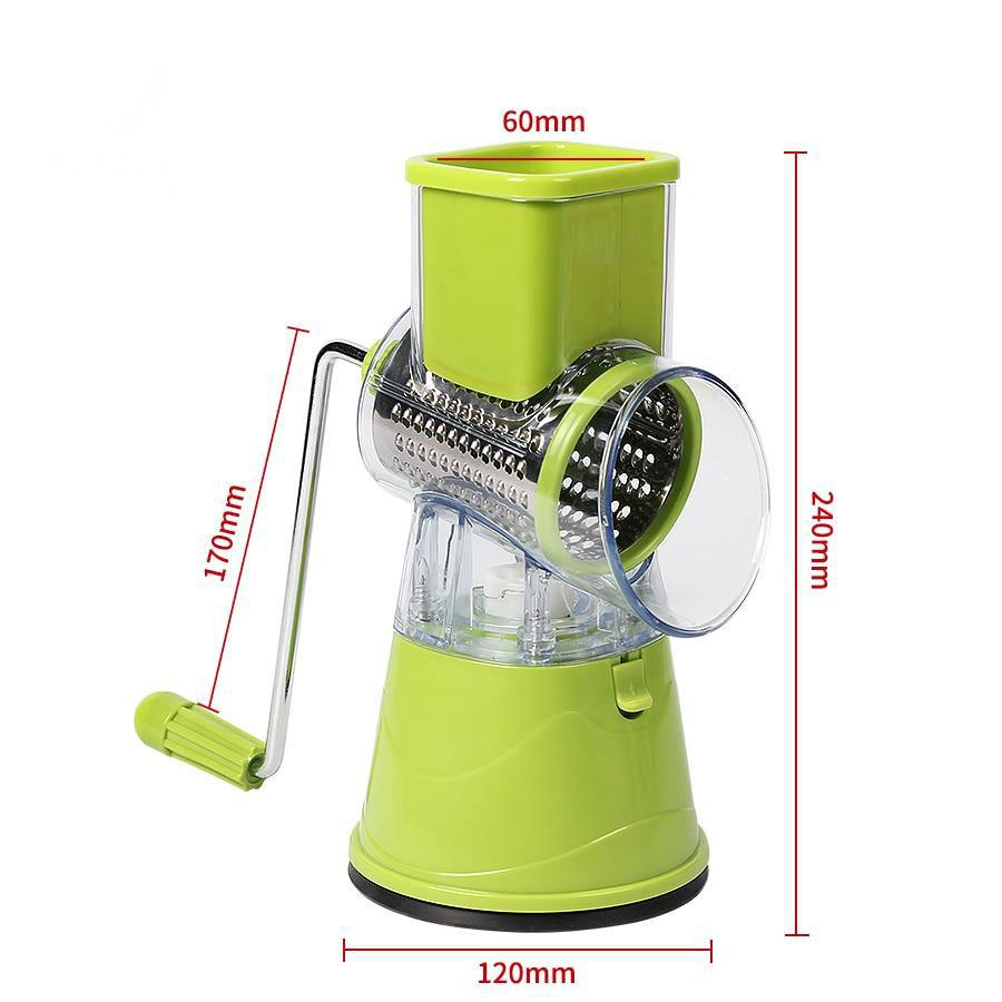 Manual Vegetable Cutter Slicer Accessories Set