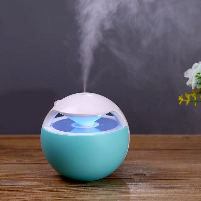450ml Air Humidifier, Essential Oil Diffuser Aromatherapy Lamp