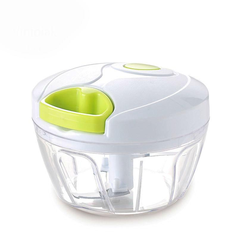Manual Vegetable Fruit Garlic Chopper Hand Pull Food Chopper