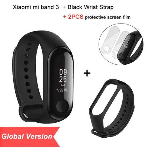 Global Version Mi Band 3  Smart Touch Screen  Band Instant Message Tracker