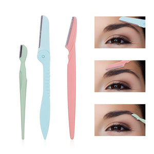 Eyebrow Trimmer Face Razor Hair Remover Blades Shaver Tools Kit