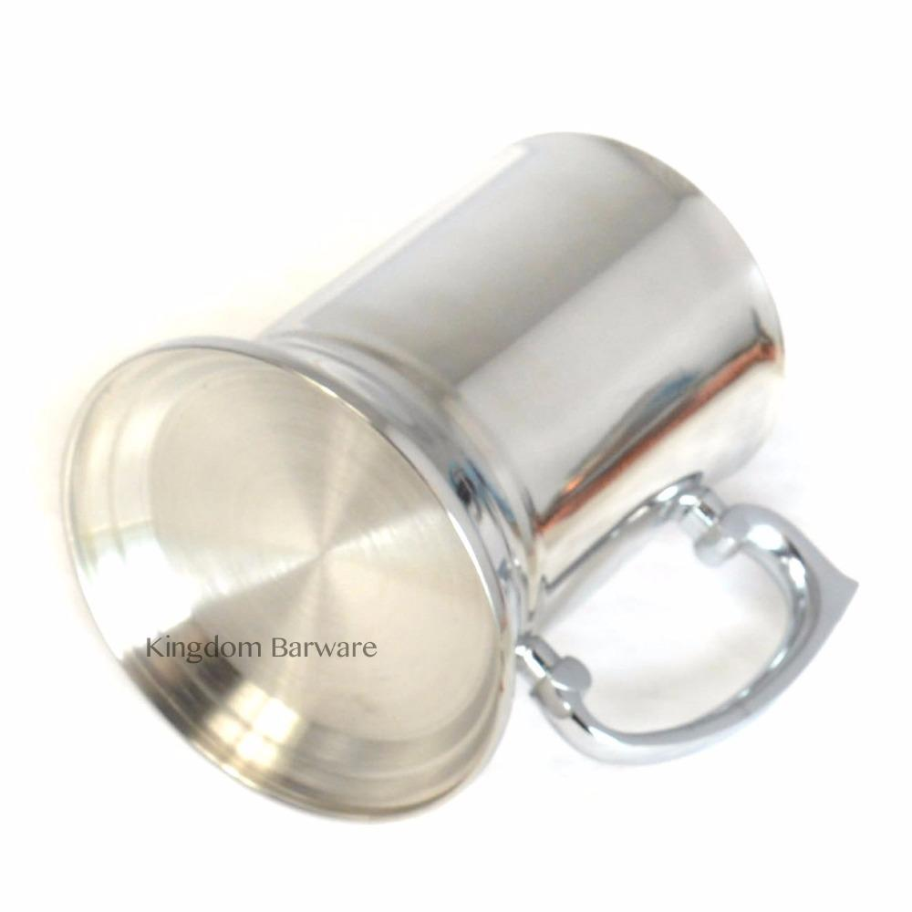 500Ml Tankard Stein Double Wall Stainless Steel Cup