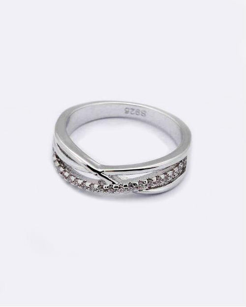 Giemi 925 X Sterling Silver Ring
