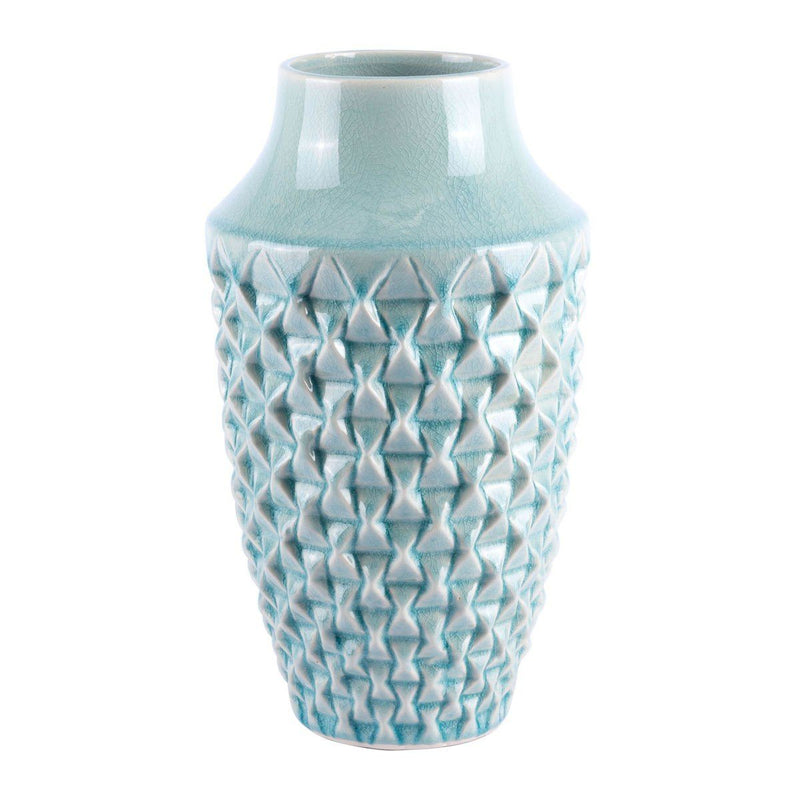 Zuo Brick Small Vase Light Teal