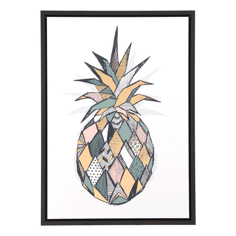 Zuo Pineapple Canvas Multicolor