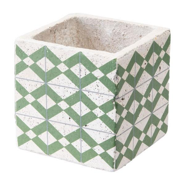 Zuo Cement Tribal Planter Green