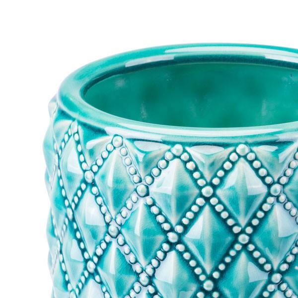 Zuo Tufted Planter Teal