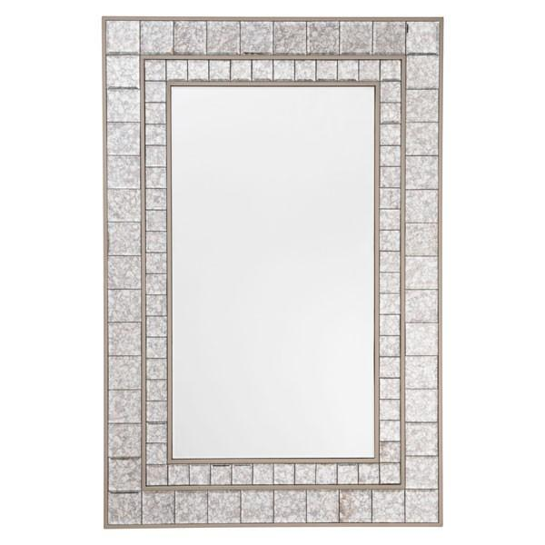 Zuo Mirror Mini Squares Mirror Antique