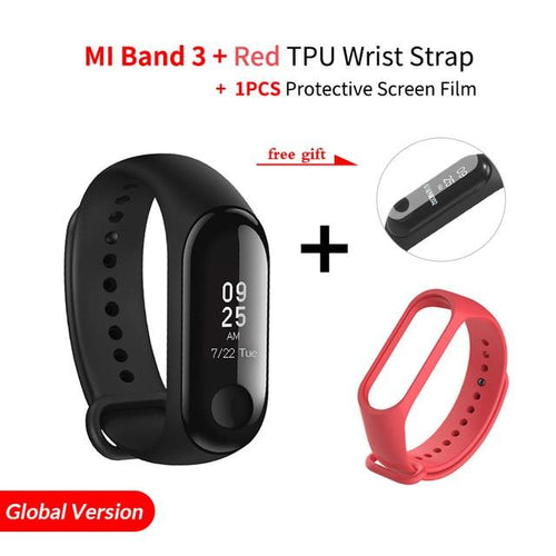 MiBand 3 Global Version Smart Bracelet Heart Rate Fitness Sports 0.78 inch