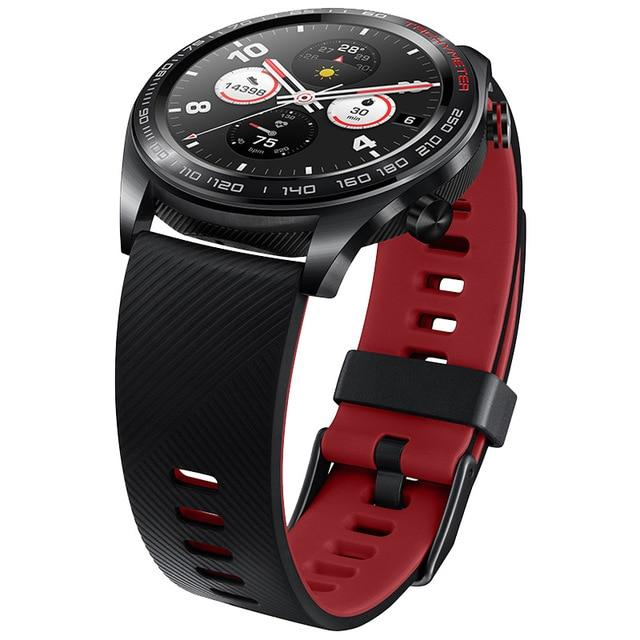 "Honor Sport Smart Watch Sleek Slim Long Battery Life GPS Scientific Coach Amoled Color 1.2"" 390^2"