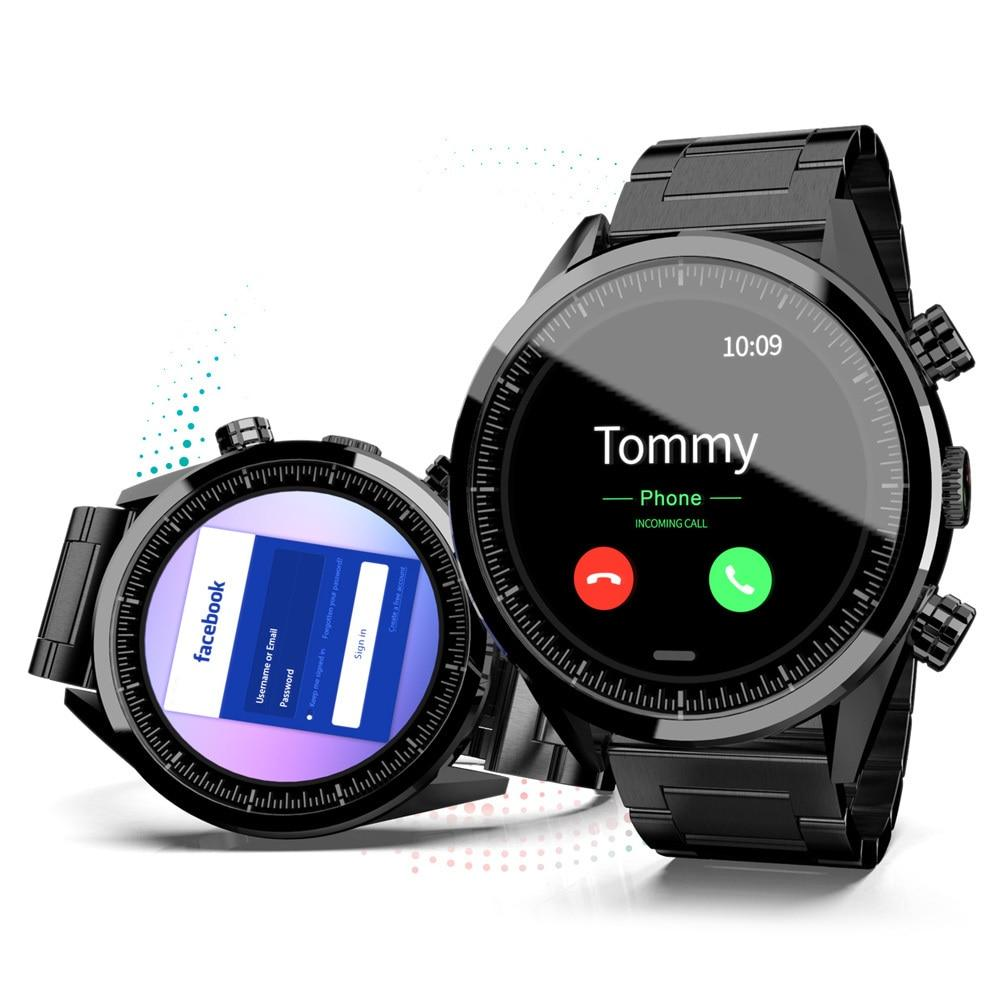 Lokmat  LK08 4G Smart Watch Android 7.1 MTK6739 3GB+32GB 400*400 AMOLED Screen 610mAh Battery GPS Smartwatch Men