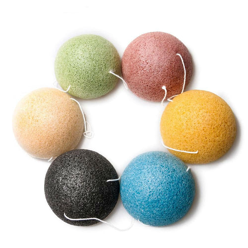 Konjac Konnyaku Exfoliator Cleansing Sponge Facial Care Makeup Tools