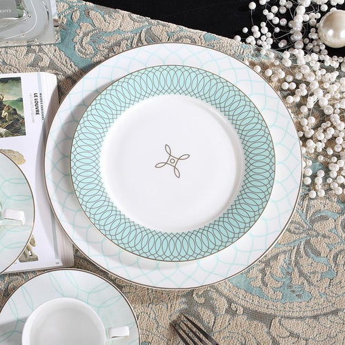 Crown Mercer Drive Dinnerware 4-Piece Place Setting