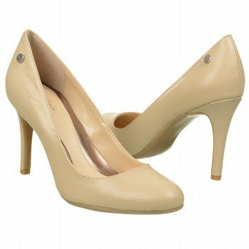 48a9b5184288 CALVIN KLEIN LANA PUMPS NATURAL LEATHER 9.5M-CALVIN KLEIN-Fashionbarn shop