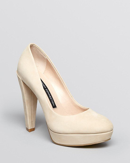 FRENCH CONNECTION Platform Pumps - Nambia High Heel-FRENCH CONNECTION-Fashionbarn shop