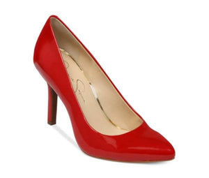 JESSICA SIMPSON APPLE PUMPS LIPSTICK RED PATENT-JESSICA SIMPSON-Fashionbarn shop