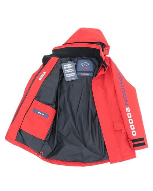 Paul & Shark Typhoon 20000 Jacket In Red