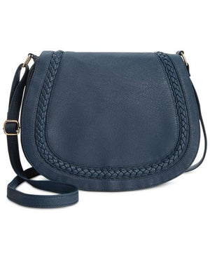 Rampage Braided Crossbody Dark Navy - Fashionbarn shop