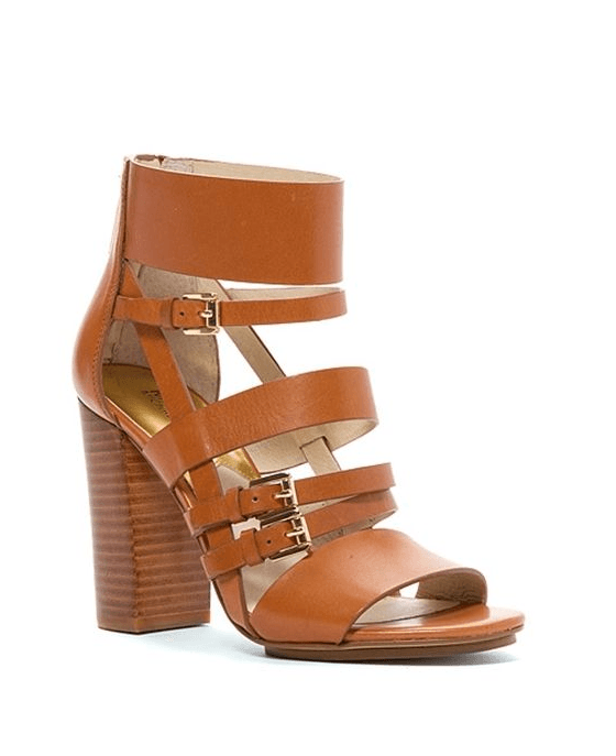 Michael Michael Kors Winston Sandal Open Toe Leather Sandals - Fashionbarn shop - 1