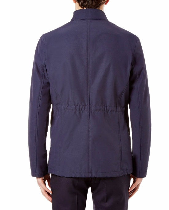 Hardy Amies Technical Cotton Four Field Pocket Jacket