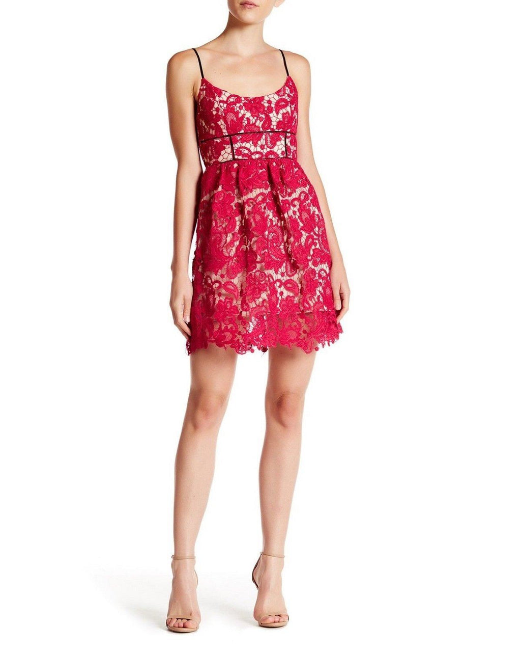 ABS Allen Schwartz New Floral Lace Dress