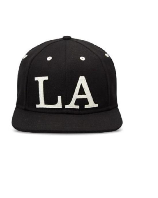 Gents Ace LA Men Accessories Black Cap