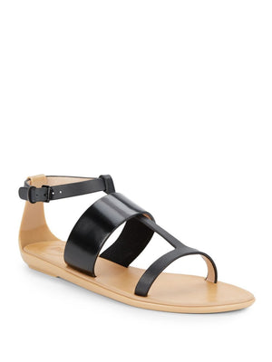 FRENCH CONNECTION Tamara Leather Sandals-FRENCH CONNECTION-Fashionbarn shop