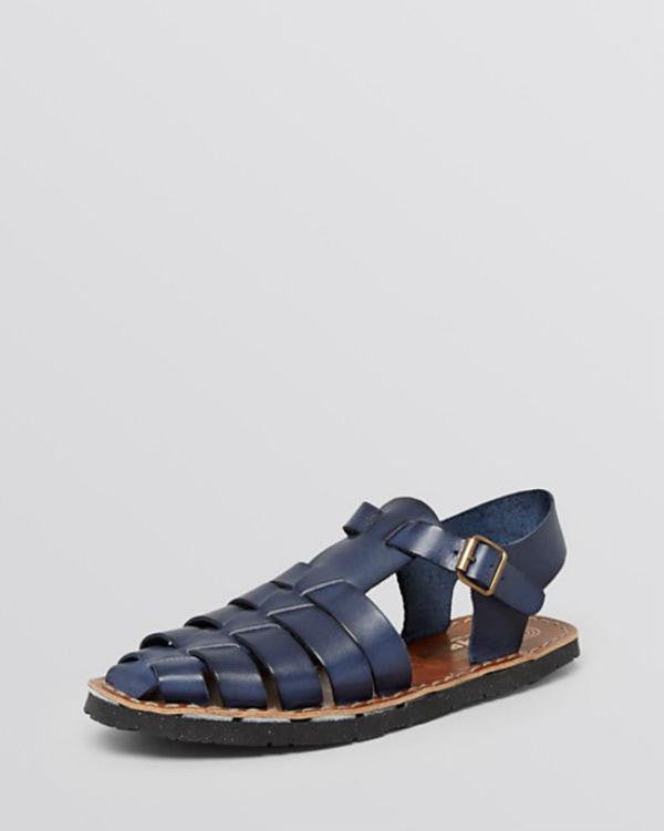 Jeffrey Campbell Flat Fisherman Sandals - Egypt 2-JEFFREY CAMPBELL-Fashionbarn shop
