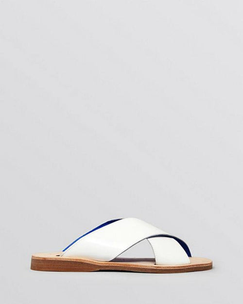 Jeffrey Campbell Flat Slide Sandals - Caprese-JEFFREY CAMPBELL-Fashionbarn shop