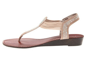 Pink & Pepper Women's Memory Sandal-PINK AND PEPPER-Fashionbarn shop