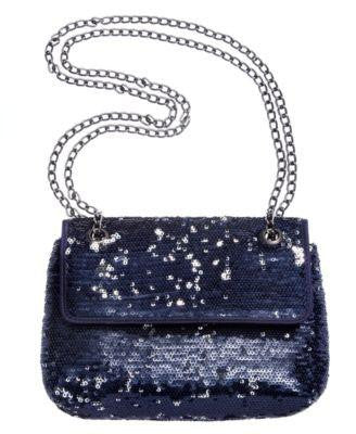 SEQUIN SANDRA MINIBAG BLACK-STYLE & CO-Fashionbarn shop
