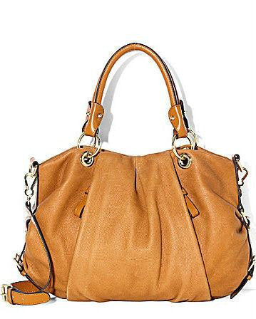 Vince Camuto Orange Christina Satchel-VINCE CAMUTO-Fashionbarn shop