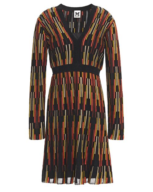 M Missoni Flared crochet-knit dress