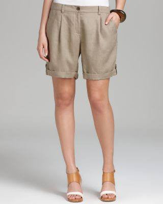 EILEEN FISHER DRIF CITY SHORT WITH CUFF-EILEEN FISHER-Fashionbarn shop