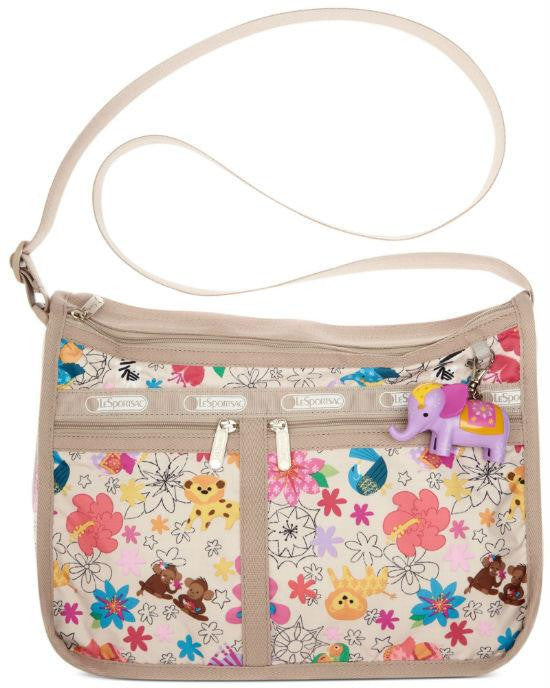 Lesportsac Beige Around The World Deluxe Everyday Bag-LESPORTSAC-Fashionbarn shop