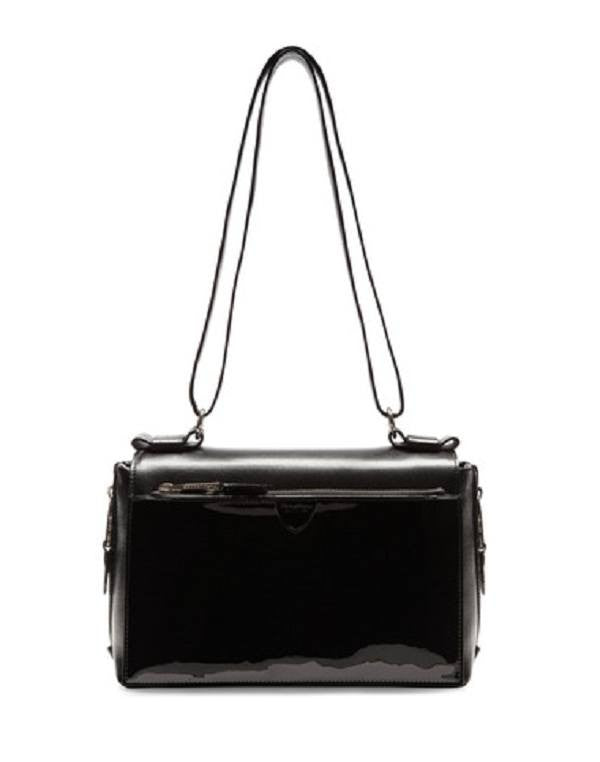 Marc Jacobs Prince Patent Amelia Shoulder Bag-MARC JACOBS-Fashionbarn shop