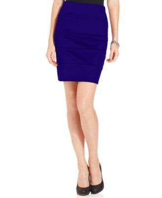 NY COLLECTION PETITE SKIRT-NY COLLECTION-Fashionbarn shop