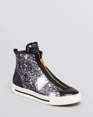 MARC BY MARC JACOBS High Top Sneakers - Cute Kicks-MARC BY MARC JACOBS-Fashionbarn shop