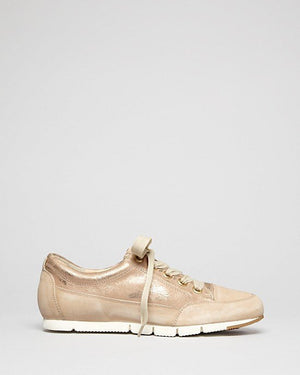 Paul Green Lace Up Sneakers - Posh Metallic-PAUL GREEN-Fashionbarn shop