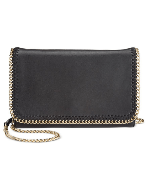 INC International Concepts Women's Black Kadi Crossbody - Fashionbarn shop