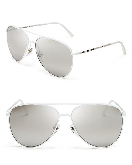 Burberry Aviator Sunglasses-BURBERRY-Fashionbarn shop