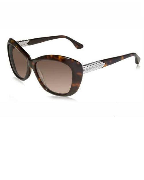 David Yurman Chevron Cat Eye DY 053 Sunglasses Color 02S-DAVID YURMAN-Fashionbarn shop